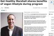 Get Healthy Marshall shares benefits of vegan lifestyle during program
