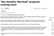 'Get Healthy Marshall' program coming soon