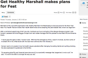Get Healthy Marshall makes plans for Fest