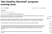 'Get Healthy Marshall' program coming soon