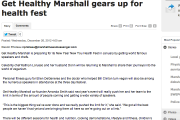 Get Healthy Marshall gears up for health fest